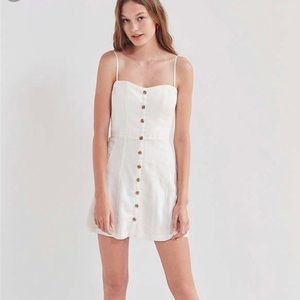Urban Outfitters Lilyanna Button Down Dress